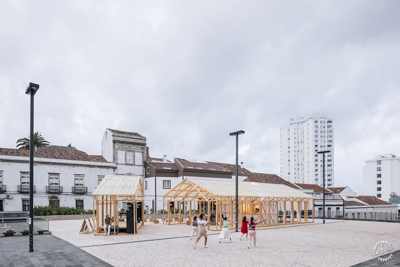 Walk&Talk艺术节的临时展馆:传统建筑的公共化改造